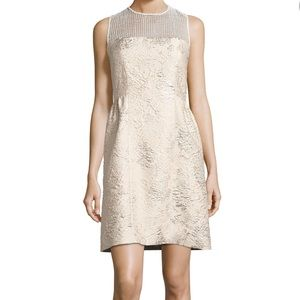 Winny sleeveless textured dress